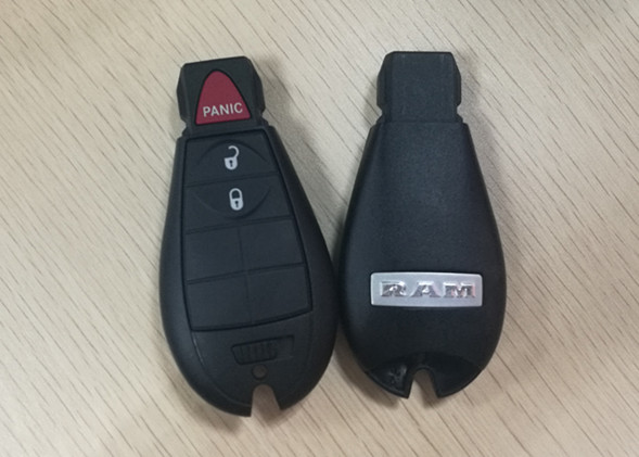 3 Button 2009 - 2012 Dodge Ram Key Fob , IYZ-C01C Keyless Entry Car Remote