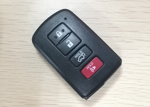 2014 - 2017 Toyota Highlander Key Fob  3 + 1 Button HYQ14FBA For Ulock Car Door