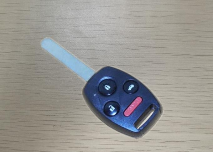 Logo Included Honda Accord Remote Key , KR55WK49308 4 Button Remote Car Starter