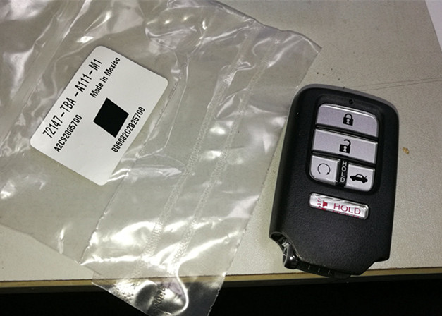 Honda Remote Key 4+1 buttons 72147-TBA-A1 For Honda CIVIC 433mhz