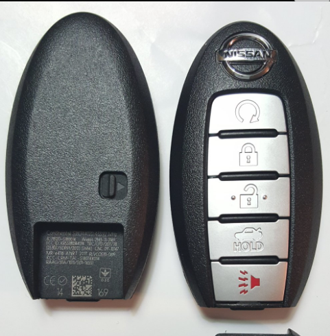 47 Chip PCF 7952 Nissan Altima Remote Key 5 Button 433 Mhz FCC ID KR5S180144014
