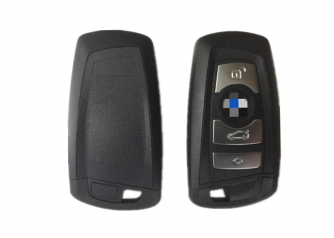 4 Button BMW Keyless Entry 9 266 846-02 SMART YGOHUF5662 Black Color