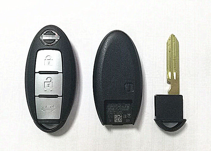 3 BUTTON Nissan Remote Key KR5S180144014 Smart Car Key For Nissan Teana