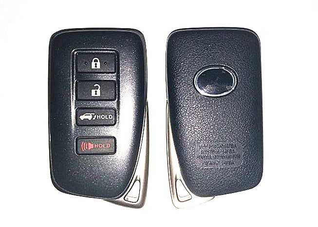 Lexus Key Shell FCC ID HYQ14FBA , 3 Plus Panic Button Lexus Smart Key