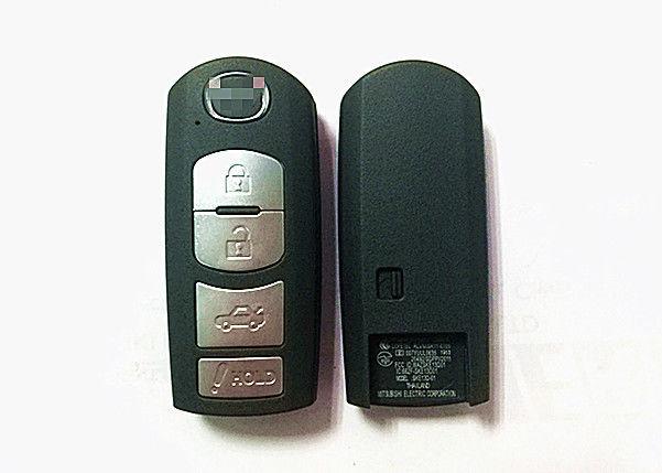 Silver Button Mazda Keyless Entry Remote Proximity Key Fob Fcc Id