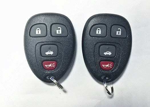 Keyless Remote Control Auto Key Fob Black Color GM Remote Start Key Fob