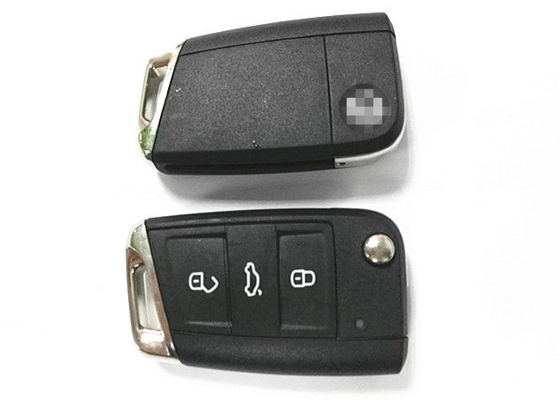 5G6 959 753 AG Flip Key Fob 3 Button Remote Key For VW Volkswagen GOLF