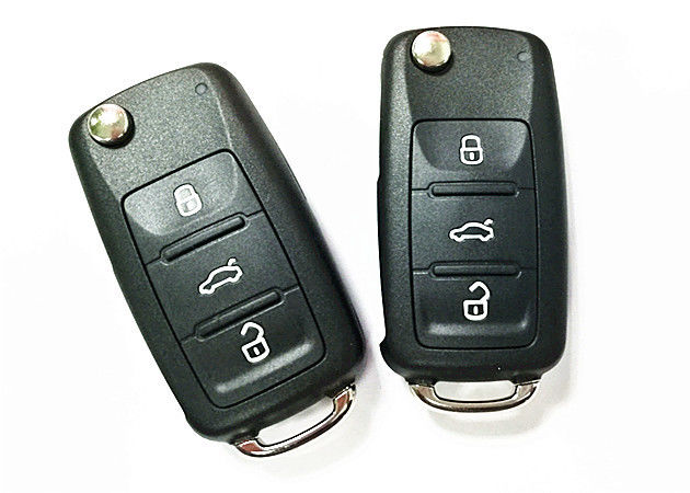 433 MHZ VW Car Remote Key 5K0 837 202 AD Frequency 3 BUTTON Smart Car Key