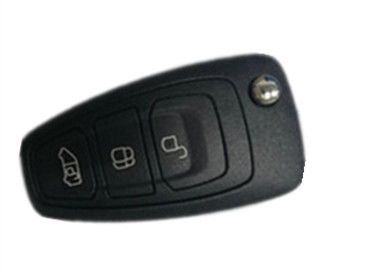 Plastic Ford Remote Key 3 BUTTON BK2T 15K601 AC smart key fob for FORD TRANSIT