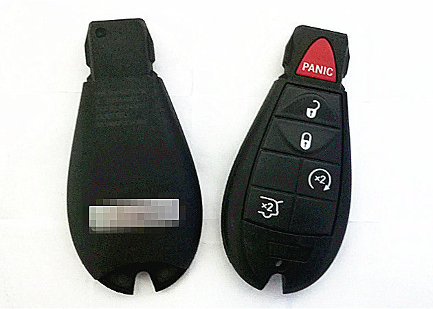 Jeep Keyless Entry Remote Start Hatch Key Fob Dodge Ram Remote Key 4+1 B Fobik For IYZ-C01C