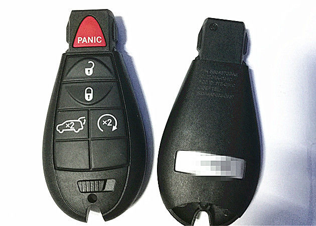 Jeep Grand Cherokee 2011-2013 4+1 Button FOBIK FCC ID IYZ-C01C Jeep Remote