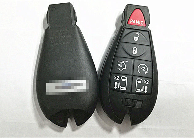 Entry Remote Car Key Fob 7-Buttons Fit for Chrysler Town /& Country 2008-2015 Set of 2 FCC ID Dodge Grand Caravan 2008-2014 M3N5WY783X// 433MHZ