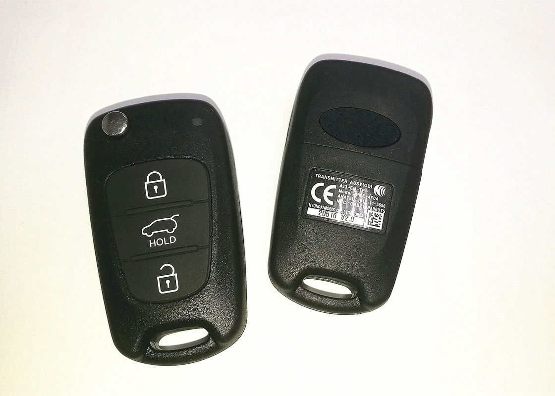 Professional Hyundai Car Key Model RKE-4F04 433MHZ 4D60 For Hyundai I30