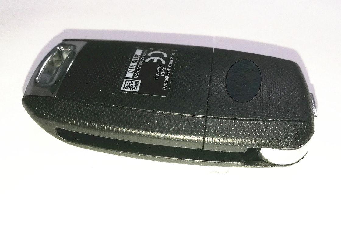 Plastic Material Kia Remote Key Rke 4f13 3 Button Flip Car