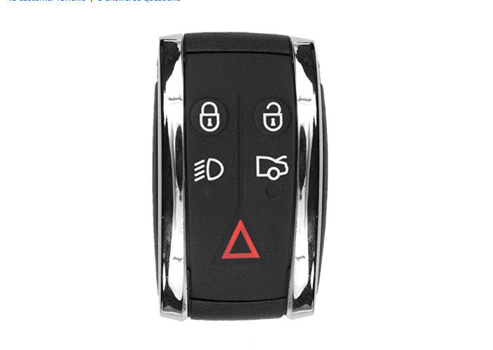 5 Buttons Jaguar Remote Key X - Type S - Type For JAGUAR XF XK XKR