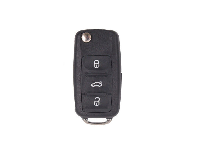 433 Mhz VW Car Remote Key Part Number 5K0 837 202 AJ ID48 Chip 3 Buttons CR2032 Battery