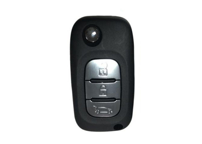Plastic 3 Button Citroen DS Car Flip Key AK016023 433 MHZ Black OEM