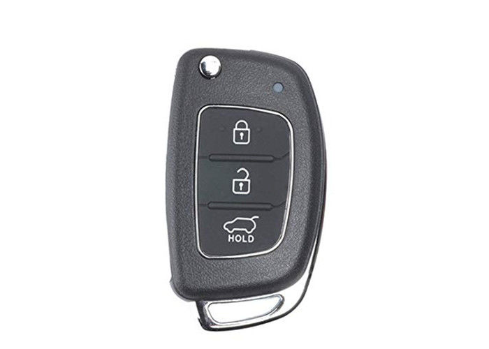 Hyundai Flip Remote Key Fob OKA-421T 3 Button 433 Mhz Chip 4D60 80BIT