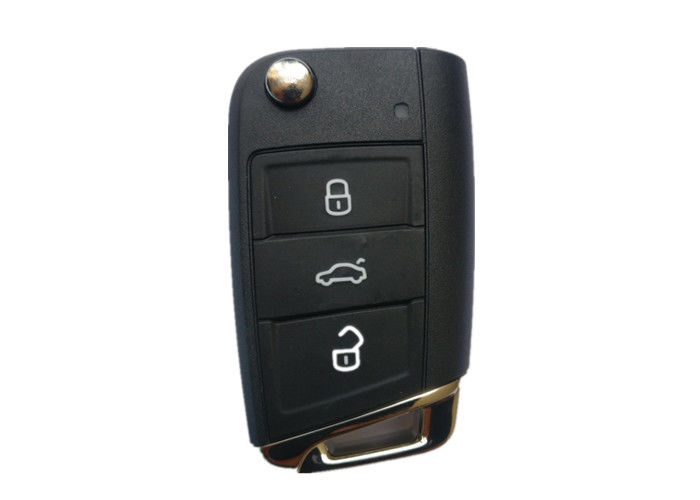 3 Button 433 Mhz Volkswagen Golf Flip Remote Key 5G6 959 753AG With Battery