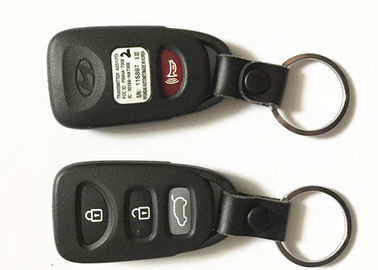China Professional Hyundai Car Key 4 Button PINHA-T008 OEM Black Car Remote Key factory