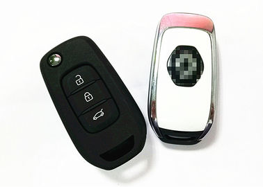 Black Car Remote Key / 3 Button Renault Car Key CWTWB1G767 Chip PCF7961
