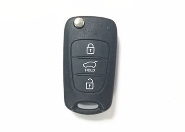 China Black Color Hyundai Car Key RKE-4A02 I10 I20 I30 Ix35 433mhz Hyundai Key Fob factory