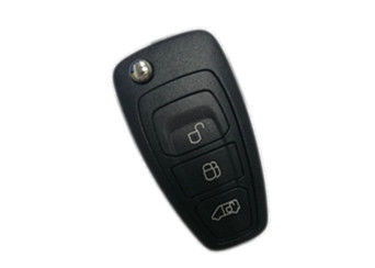 China Fashionable Ford Remote Key / 3 Button Key Fob BK2T 15K601 AC 433 Mhz factory