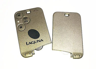 China Renault Laguna Keyless Entry Fob 3 Button 433Mhz Logo Customized Silver Color factory