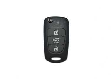 3 Button 433 Mhz Flip Remote Hyundai Car Key 95430-1K000 For XI20 2010-2015