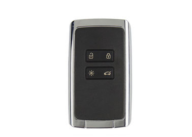Plastic Material Keyless Entry Fob 4 Button PCF7953M Chip 433Mhz For Renault Megane 4