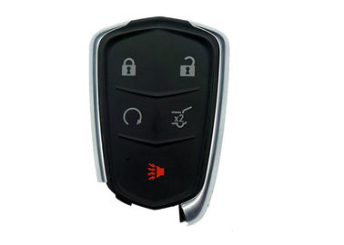 OEM Car Remote Key Cadillac Smart Entry FCC ID HYQ2EB 13598516 5 Buttons 433 Mhz